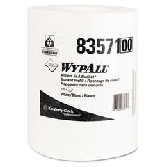 X70 Wipers in a Bucket Refills, No Bucket, 10 x 13, 220/Rolls, 3 Rolls/Carton