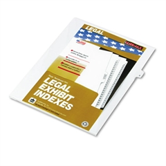 "80000 Series Legal Index Dividers, Side Tab, Printed ""8"", 25/Pack"