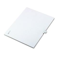 """Kleer-Fax 80000 Series Legal Index Dividers, Side Tab, Printed """"13"""", 25/Pack"""