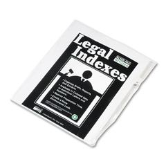 "Kleer-Fax 80000 Series Legal Index Dividers, Side Tab, Printed ""31"", 25/Pack"