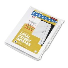 "80000 Series Legal Index Dividers, Side Tab, Printed ""39"", 25/Pack"