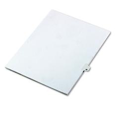 """Kleer-Fax 80000 Series Legal Index Dividers, Side Tab, Printed """"41"""", 25/Pack"""