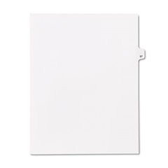 "80000 Series Legal Index Dividers, Side Tab, Printed ""57"", 25/Pack"