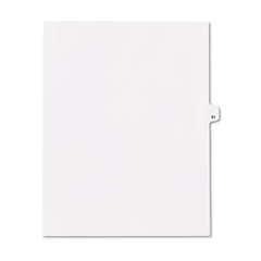 "80000 Series Legal Index Dividers, Side Tab, Printed ""61"", 25/Pack"