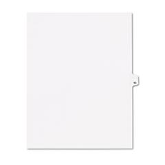 """80000 Series Legal Index Dividers, Side Tab, Printed """"63"""", 25/Pack"""