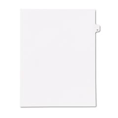 """Kleer-Fax 90000 Series Legal Exhibit Index Dividers, Side Tab, Printed """"30"""", 25/Pack"""