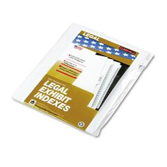 "90000 Series Alpha Side Tab Legal Index Divider, Preprinted ""C"", 25/Pack"