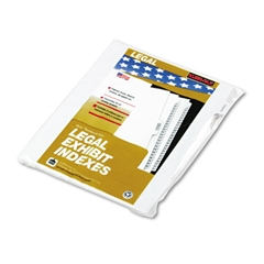 "Kleer-Fax 90000 Series Legal Exhibit Index Dividers, 1/10 Cut Tab, ""Exhibit B"", 25/Pack"