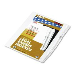 "Kleer-Fax 90000 Series Legal Exhibit Index Dividers, 1/10 Cut Tab, ""Exhibit C"", 25/Pack"