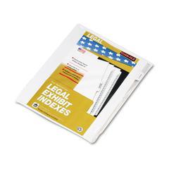 "90000 Series Legal Exhibit Index Dividers, 1/10 Cut Tab, ""Exhibit V"", 25/Pack"