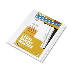 "90000 Series Side Tab Legal Index Divider Set, Printed ""1""-""25"""