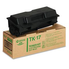 Kyocera TK17 Toner, 6000 Page-Yield, Black