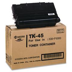 Kyocera TK45 Toner, 12000 Page-Yield, Black