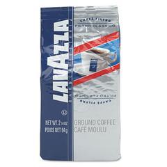 Lavazza Filtro Classico Italian Medium Roast Coffee, 2.25oz Fraction Packs, 30/Carton