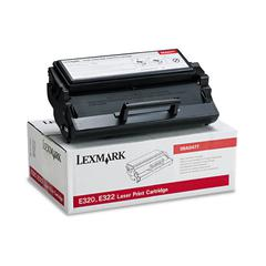 Lexmark 08A0477 High-Yield Toner, 6000 Page-Yield, Black