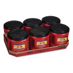 Coffee, Classic Roast, Ground, 30.5 oz Canister, 6/Carton