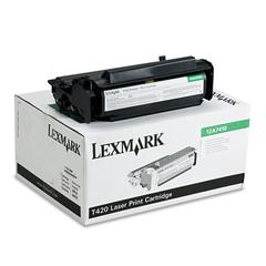 Lexmark 12A7410 Toner, 5000 Page-Yield, Black
