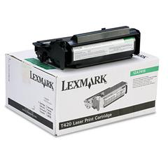 Lexmark 12A7415 High-Yield Toner, 10000 Page-Yield, Black