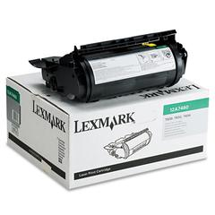 Lexmark 12A7460 Toner, 5000 Page-Yield, Black