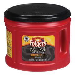 Coffee, Black Silk, 24.2 oz Canister