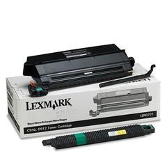 Lexmark 12N0771 Toner, 14000 Page-Yield, Black
