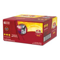 Coffee Filter Packs, Classic Roast, 1.4 oz Pack, 40/Carton