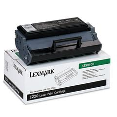 Lexmark 12S0400 Toner, 2500 Page-Yield, Black