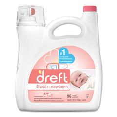Ultra Laundry Detergent, Liquid, Baby Powder Scent, 150 oz Bottle, 4/Carton