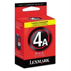 Lexmark 18C1954 Ink, 175 Page-Yield, Black