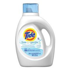 Free & Gentle Liquid Laundry Detergent, 100 oz Bottle, 4/Carton