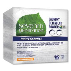 Powder Laundry Detergent, Free and Clear, 70 Loads, 112 oz Box, 4/Carton