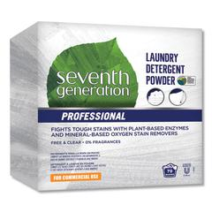 Powder Laundry Detergent, Free and Clear, 70 Loads, 112 oz Box