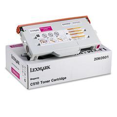 Lexmark 20K0501 Toner, 3000 Page-Yield, Magenta