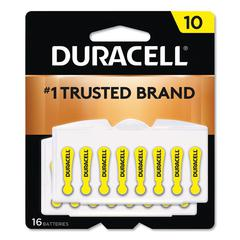 Hearing Aid Battery, #10, 16/Pack