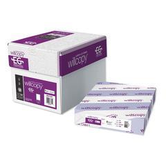 Custom Cut-Sheet Copy Paper, 20 lb, 8 1/2 x 11, White, 19-Hole, 500 sheets/RM