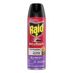 Ant and Roach Killer, 17.5 oz Aerosol, Lavendar