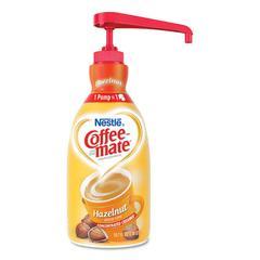 Liquid Coffee Creamer, Hazelnut, 1500mL Pump Bottle