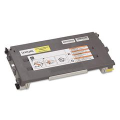 Lexmark C500S2YG Toner, 1500 Page-Yield, Yellow