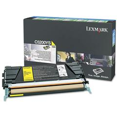 C5200YS Toner, 1500 Page-Yield, Yellow