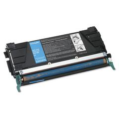 Lexmark C5222CS Toner, 3000 Page-Yield, Cyan