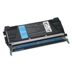 Lexmark C5242CH High-Yield Toner, 5000 Page-Yield, Cyan