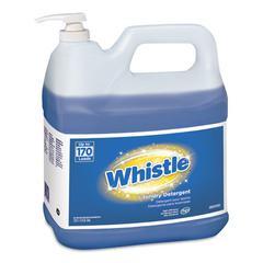 Whistle Laundry Detergent (HE), Floral, 2 gal Bottle, 2/Carton