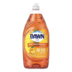 Ultra Antibacterial Dishwashing Liquid, Orange, 40 oz Bottle