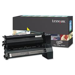 C782X4YG Extra High-Yield Toner, 15000 Page-Yield, Yellow