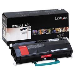 E260A21A Toner, 3500 Page-Yield, Black