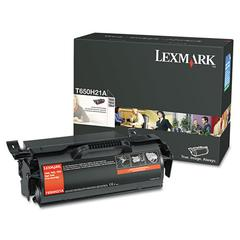 T650H21A Toner, 25000 Page-Yield, Black