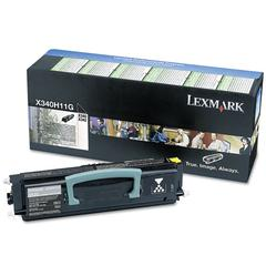 Lexmark X340H11G High-Yield Return Prgrm Toner, 6,000 Pg-Yld, Black