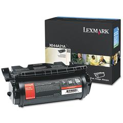 Lexmark X644A21A Extra High-Yield Toner, 10000 Page-Yield, Black