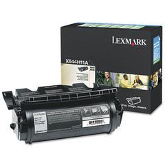 Lexmark X644H11A High-Yield Return Program Toner, 21000 Pg-Yld, Black
