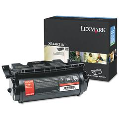 Lexmark X644H21A Toner, 30000 Page-Yield, Black